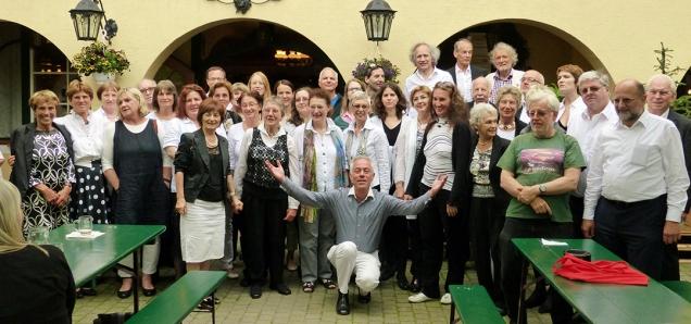St-Georgs-Chor Wien - Abschied Gustav Danzinger - Juni 2014