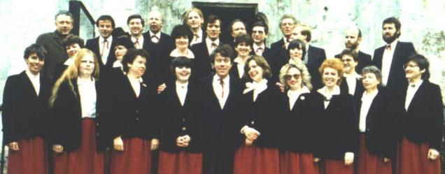 St. Georgs-Chor Wien 1979